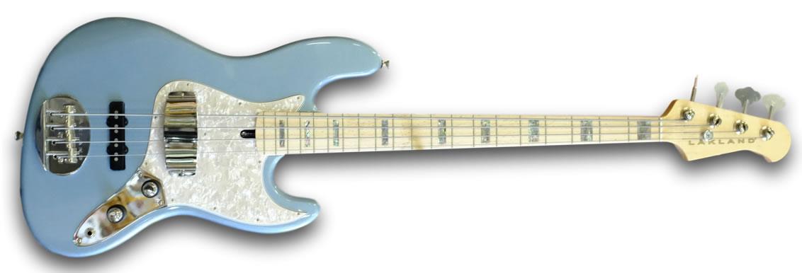 Lakland USA Series Ice Blue 44-60 electric bass guitar