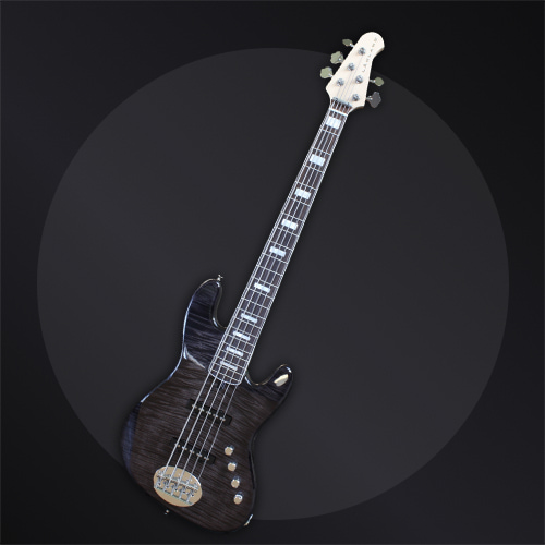 USA Series 55-AJ Charcoal Translucent With Pearl Block-min