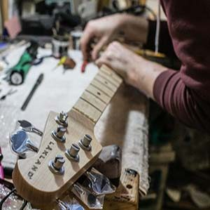 FAQs image of a lakland being worked on