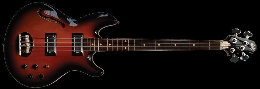 Lakland USA Series Hollowbody-34 four string bass