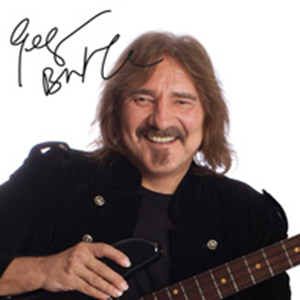 Geezer Butler plays a Lakland Geezer Butler Signature Model