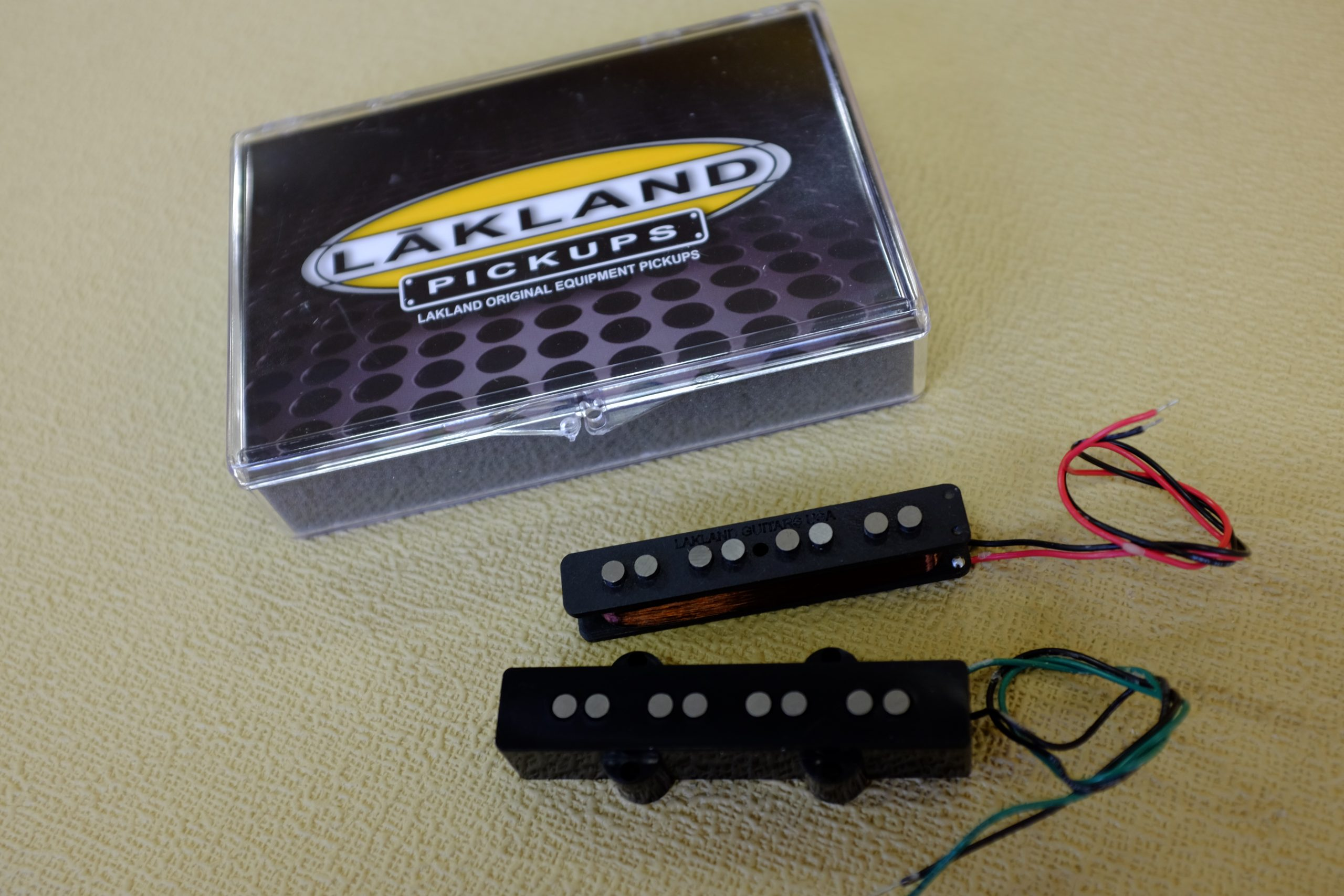 Lakland Vintage J4 String Single Coil Pickups Set