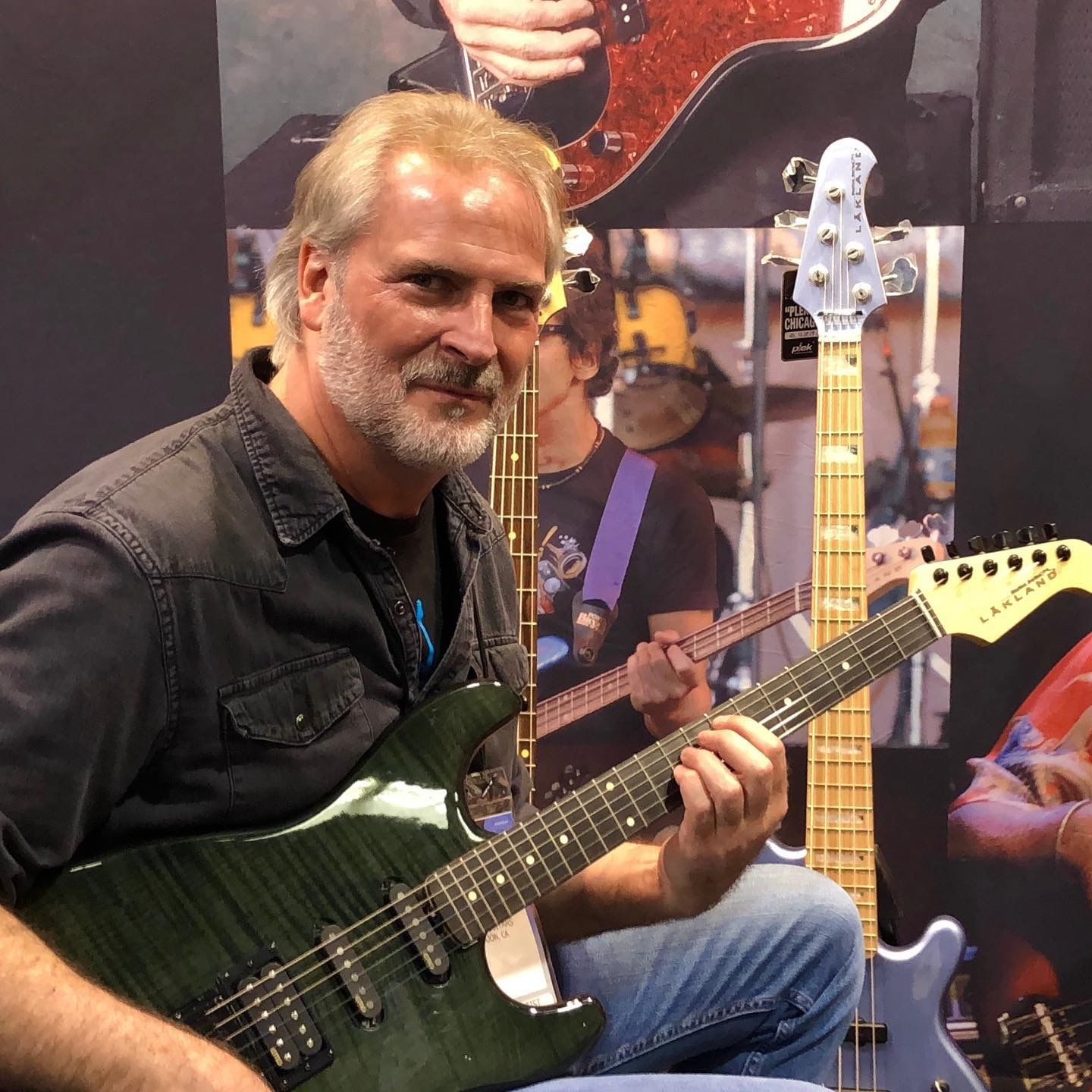 Andy Childs Plays A Lakland Bass