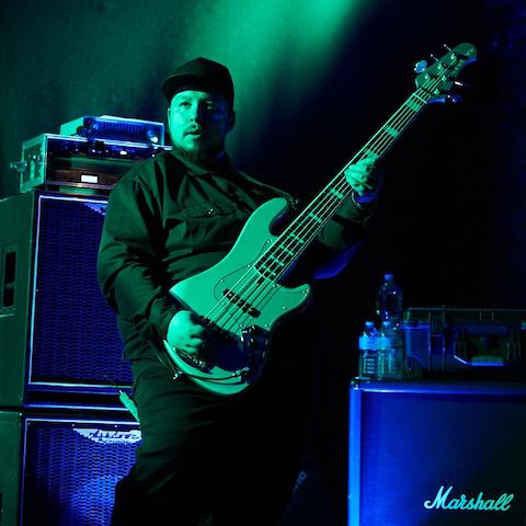 Gábor Horváth Playing a Lakland Bass